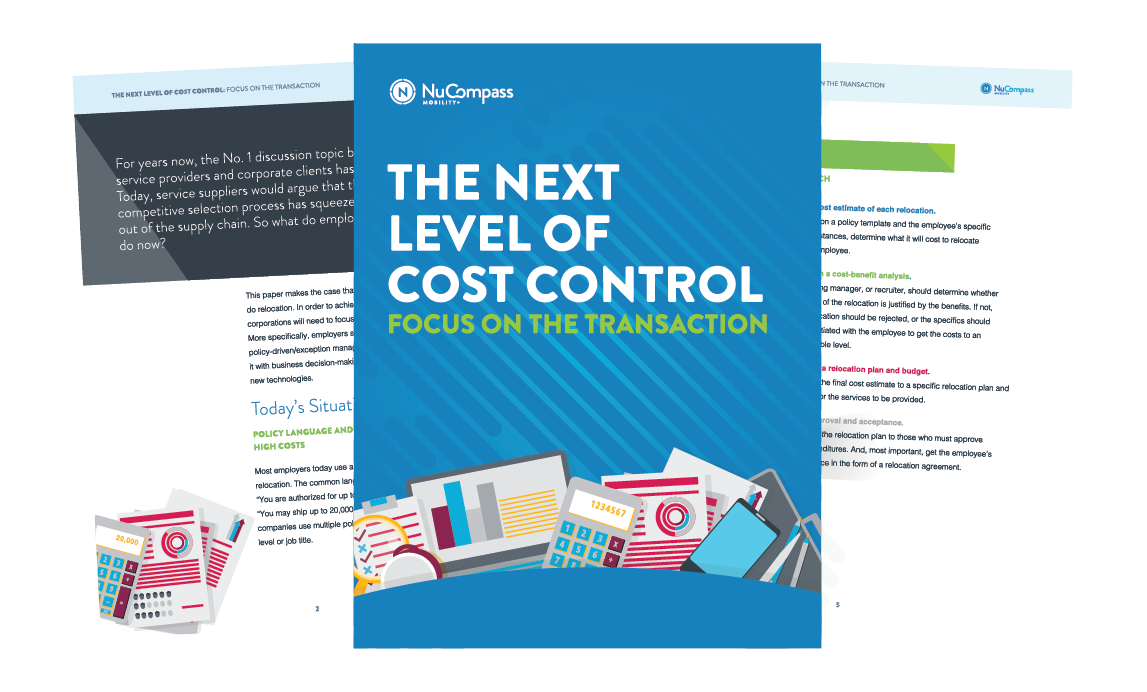 become an expert on controlling exception costs - Typical Relocation Package Average Relocation Package Examples