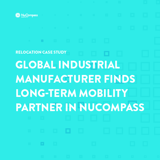 Case Study: Global Industrial Manufacturer Finds Long-term Mobility Partner in NuCompass