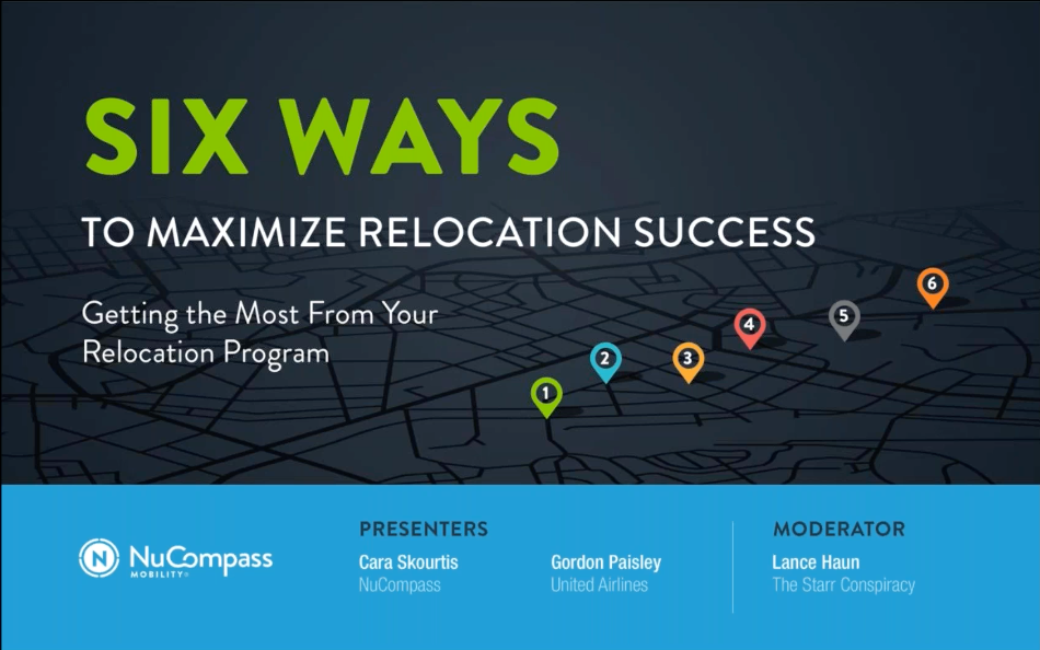 Six Ways to Maximize Relocation Success